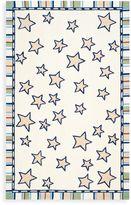 Safavieh Kids® Stars with Stripes Border 4-Foot x 6-Foot Rug