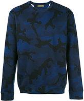 Valentino camo print sweatshirt