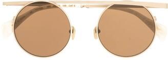 Yohji Yamamoto Top Bar Sunglasses