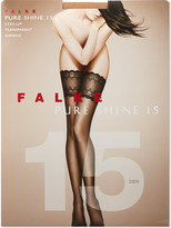 Falke Pure Shine 15 stay-ups