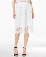 Maison Jules Crochet-Lace Skirt, Only at Macy's