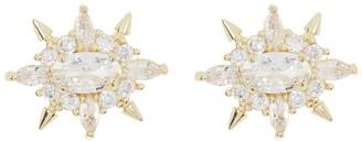 Melinda Maria Jackie CZ Stud Earrings