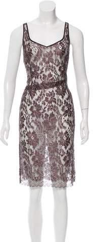 Chanel Wool Lace Dress