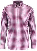 Gant Heather Oxford Gingham Shirt Rasberry Purple