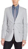 Calvin Klein Men's Slim Fit Linen Herringbone Jacket