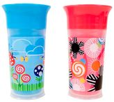 Sassy 2-Pack 9 oz. Insulated Grow Up Cup in Pink/Blue