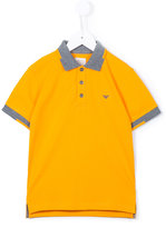 Armani Junior classic polo shirt - kids - Cotton - 6 yrs