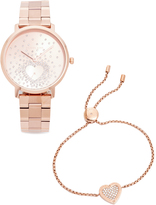 Michael Kors Jaryn Pave Heart Watch