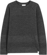 Norse Projects Ville Grey Textured-knit Wool Jumper