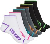 Converse Flat-Knit Socks - 6-Pack, Below the Ankle (For Women)