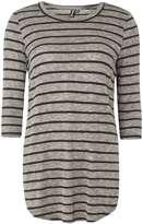 Izabel London **Izabel London Multi Black Stripe Top