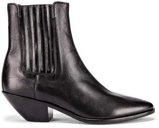 Saint Laurent West Chelsea Boots in Black | FWRD