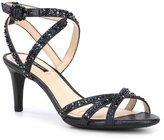 Alex Marie Kandis Shimmer Fabric Hotfix Dress Sandals
