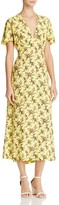 Sandro Enis Printed Midi Dress