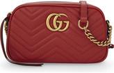 Gucci Marmont matelassé leather shoulder bag