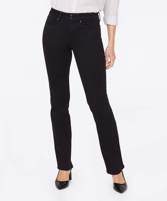 NYDJ Women's Denim Pants and Jeans BLACK - Black Marilyn Double-Shank Straight Leg Pants - Women