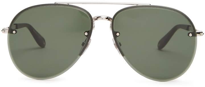 Givenchy Aviator metal sunglasses