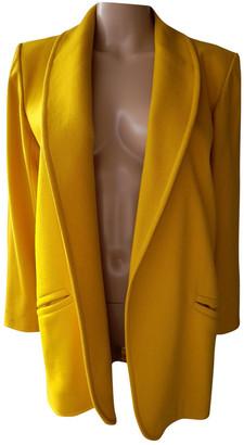 Saint Laurent Yellow Wool Jackets