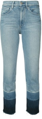 3x1 Shelter high-rise cropped jeans
