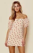 The Endless Summer off shoulder elsa mini dress