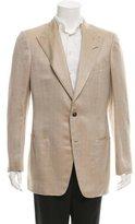 Tom Ford Herringbone Silk Blazer