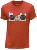 STUFF4 Men's Round Neck T-Shirt/Equalizer/Boom Box