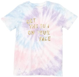 ban.do Get The Sun On Your Face Classic Tee (Tie-Dye) Women's Clothing