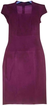 Jitrois Red Suede Dress for Women