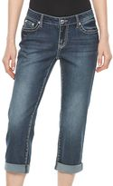 Apt. 9 Women's Apt.9® Embroidered Capri Jeans
