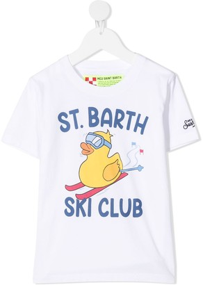 Mc2 Saint Barth Kids Cameron snow ducky T-shirt
