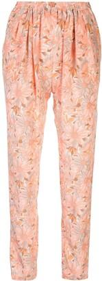 Stella McCartney Floral Trousers