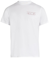 Martine Rose Logo-print cotton-jersey short-sleeved T-shirt