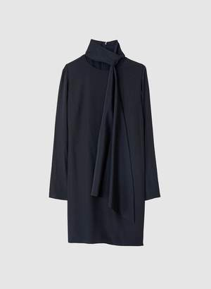 Tibi Heavy Silk Cdc Shift Dress
