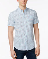 Ben Sherman Men's Floral-Print Short-Sleeve Shirt