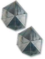 Viktoria Hayman Star Dust Resin Earrings, Pierced