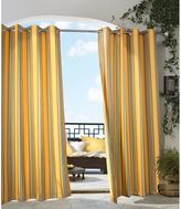 Commonwealth Home Fashions Gazebo Stripe Grommet Top Window Curtain Panel