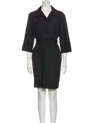 Hermes Mini Dress Black