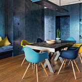 Ciel Eames Style Daw, Arm Chair. Deep Colours, 20+ Colours