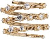 MATTIA CIELO Rugiada Three-Circle Wrap Diamond Ring