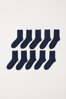 H&M 10-pack Socks - Blue