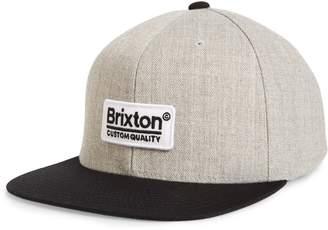 Brixton Palmer Flat Brim Baseball Cap