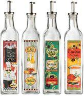 Global Amici 4-pc. Oil & Vinegar Dispenser Set