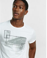 Express train graphic t-shirt