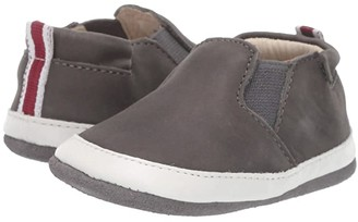 Robeez Lenny Loafer Mini Shoez (Infant/Toddler) (Grey) Boy's Shoes