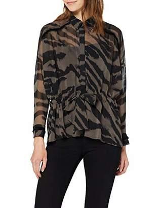 Religion Women's GEM Shirt Regular Fit V-Neck Long Sleeve Blouse,8 (Manufacturer Size:8)
