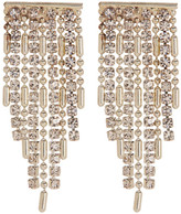 Natasha Accessories Crystal Chandelier Bar Earrings