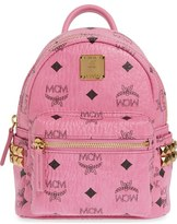 MCM 'X Mini Stark Side Stud' Convertible Backpack