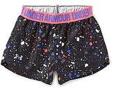 Under Armour Baby Girls 12-24 Months Splatter-Print Play Up Shorts