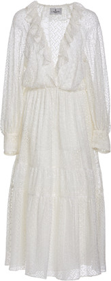 J. Mendel Brode Anglaise Lace Dress