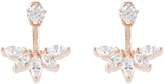 Accessorize Rose Gold Cute Crystal Ear Jackets